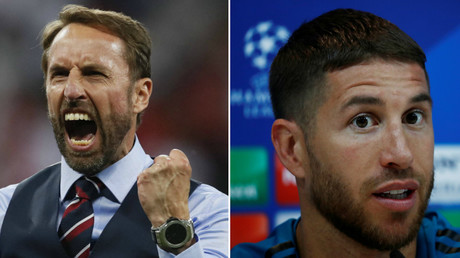 'We blame Ramos!' – Twitterati troll Spain star for England manager shoulder injury
