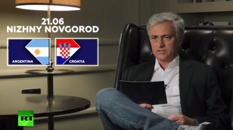 Can Argentina & misfiring Messi overcome Croatia? Here's what Jose Mourinho thinks… (VIDEO)