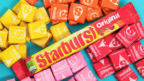 Something to chew over? Trump 'threw Starburst candy at Merkel' amid G7 summit row