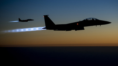 A pair of US Air Force F-15E Strike Eagles. © US Air Force / Reuters