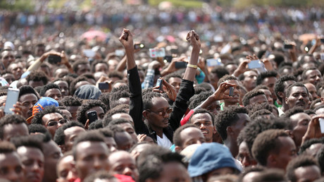 Explosion at rally in support of Ethiopia's new prime minister leaves a 'few' injured – state TV