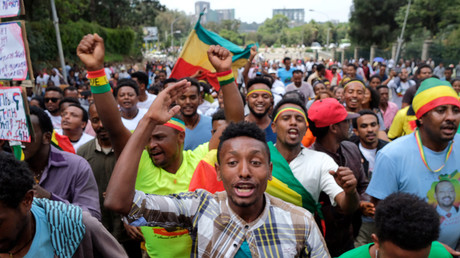 Blast at rally in support of Ethiopia's new prime minister leaves dozens injured