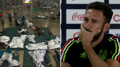 'These images hurt me': Mexico star speaks out on Trump's family detainment policy at US border