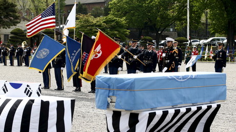 US sends caskets to N. Korea in preparation for return of US war dead