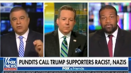 Ex-Trump campaign figure tells black Democrat strategist he is 'out of his cotton-picking mind'