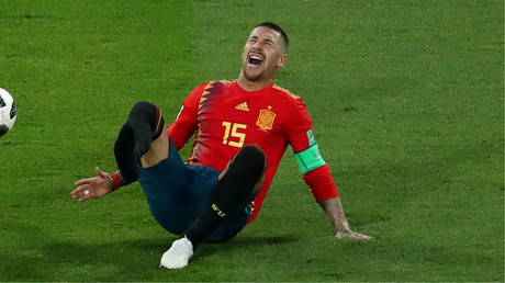 'Ramos at it again!' Real skipper's elbow leaves rival bloodied, internet puts the boot in (VIDEO)