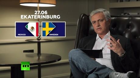 'Confrontation of ideas': Jose Mourinho on Mexico v Sweden match (VIDEO)