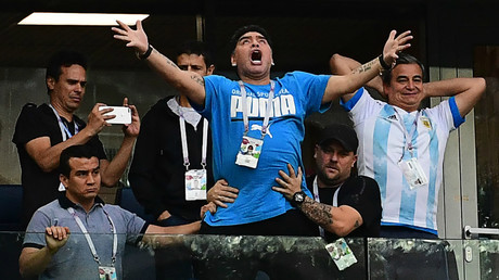'He's completely possessed!': World reacts to Maradona's Messi goal reaction