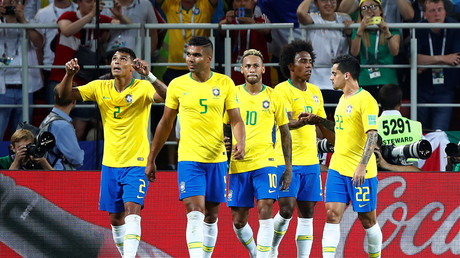 Brazil breeze into last 16 with 2-0 win as Serbia knocked out