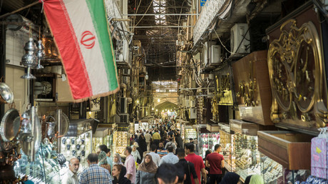 The Grand Bazaar in Tehran. © Nazanin Tabatabaee Yazdi/TIMA