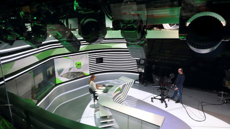RT's news studio. © Gonzalo Fuentes