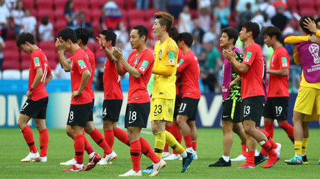 Eggs hurled at South Korea squad on return home from World Cup (VIDEO)