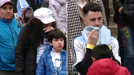 'Don't Cry 4-3 Argentina': Tears in Buenos Aires as La Albiceleste flounder in Kazan (VIDEO)