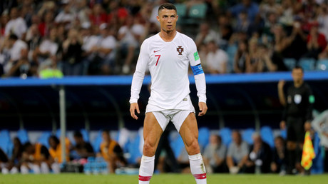 Ronaldo flashes legs, internet goes into meme frenzy