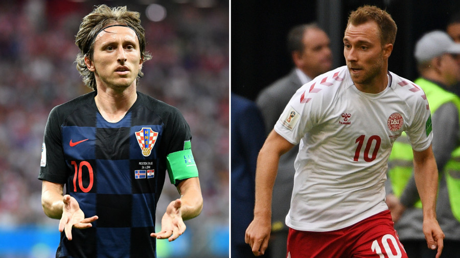 Croatia v Denmark: Unbeaten duo meet with World Cup quarter final slot at stake