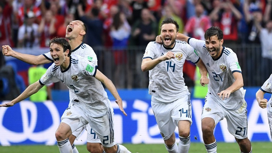 'I'm crying. Thank you Russia!' – Locals delirious after stunning World Cup win against Spain