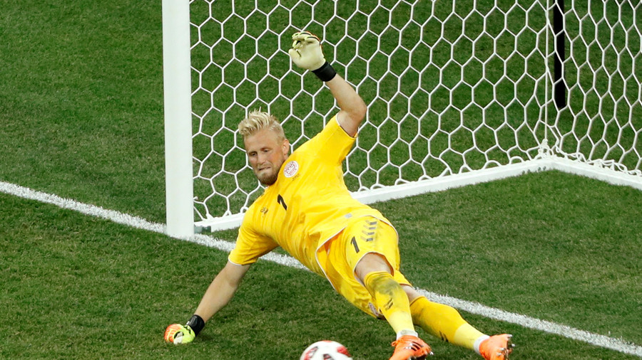 Keeper kudos: Schmeichel & Subasic win praise for performances in latest World Cup thriller