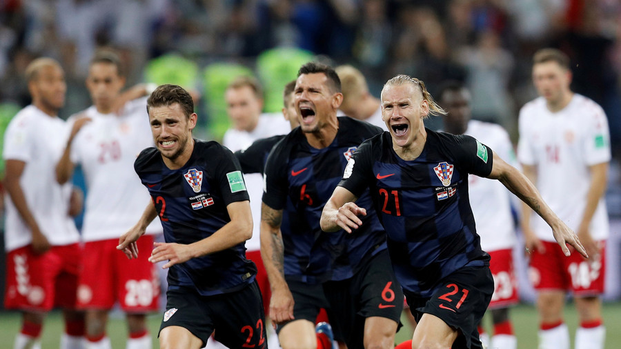 Croatia beat Denmark on penalties to set up World Cup quarter-final with Russia