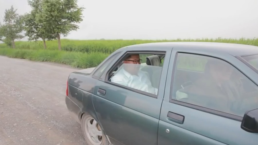Kim Jong-un swaps armored limo... for Russian Lada Priora? (VIDEO)
