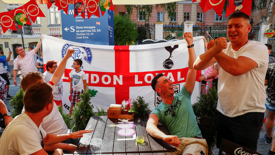 Cheaper than ever for England fans to watch their team play in Russia World Cup
