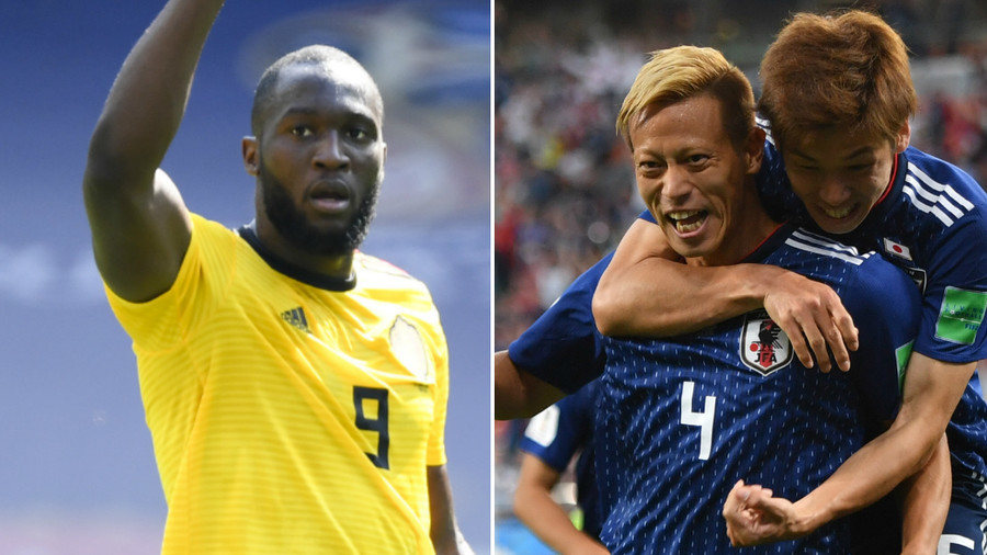 Japan hoping to cause latest World Cup shock against highly-touted Belgian side