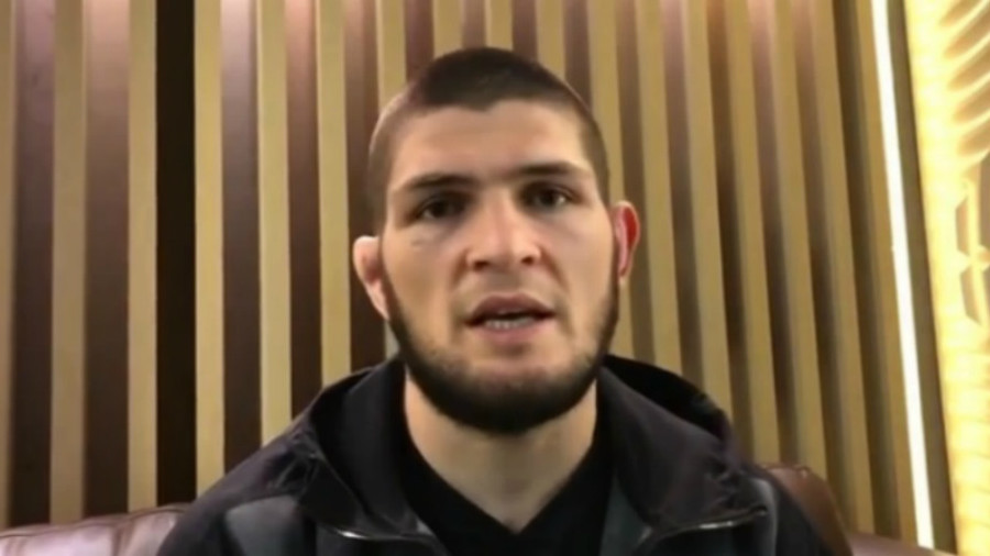 'Unreal emotions': UFC champion Nurmagomedov pays tribute to Russian resolve in Spain win