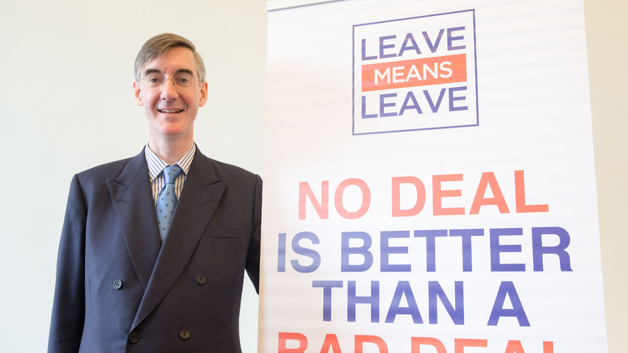 Tory cries of 'blackmail' as Rees-Mogg 'threatens' May over Brexit