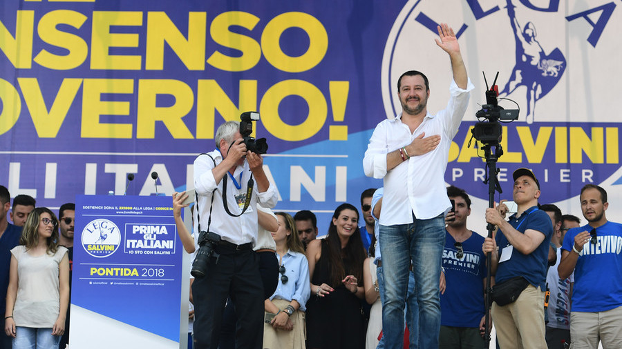 Italy's Salvini wants 'League of Leagues' to unite EU govts aiming to 'defend their borders'