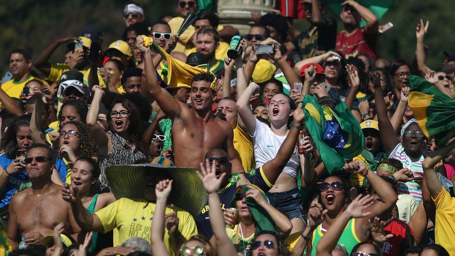Rio eruption: Fans react to brilliant Brazilian World Cup win over Mexico (VIDEOS)