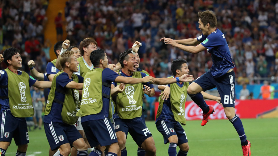 Internet explodes into anime frenzy after Japan wonder goals