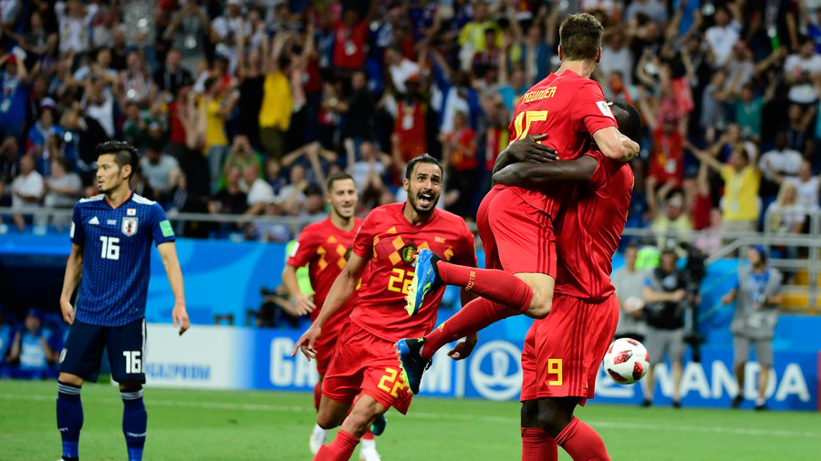 Late winner sends Belgium into World Cup quarter-finals after thrilling comeback against Japan