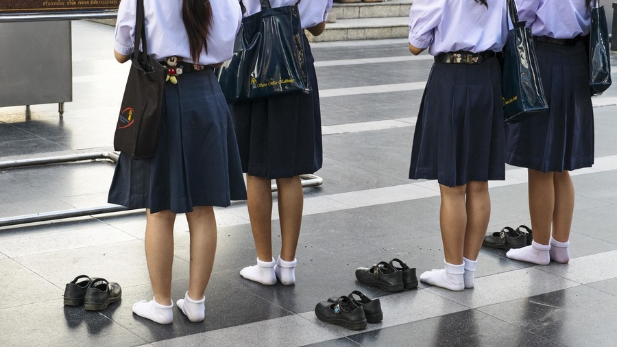 40 schools in England ban girls from wearing skirts to accommodate transgender students