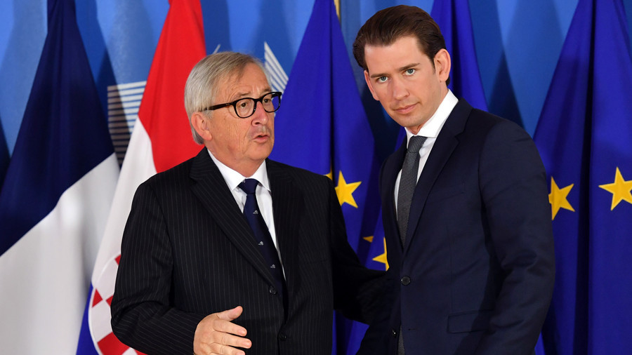 'Don't serve Wiener Schnitzel only': Juncker jokingly advises Austrian chancellor on EU presidency