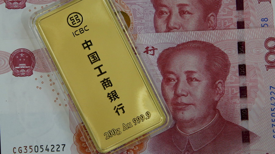 Russia ramps up yuan & gold share in its reserves