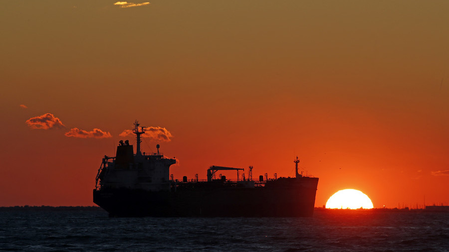 US oil touches $75 amid fears Iran will block Middle East shipments
