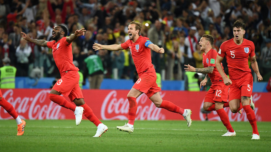Social media reaction to England's World Cup penalty shootout win