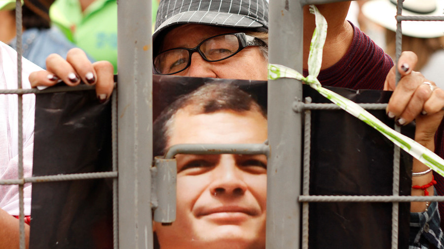 'They want me dead': Rafael Correa defies arrest order & talks 'lawfare' in emotional RT interview