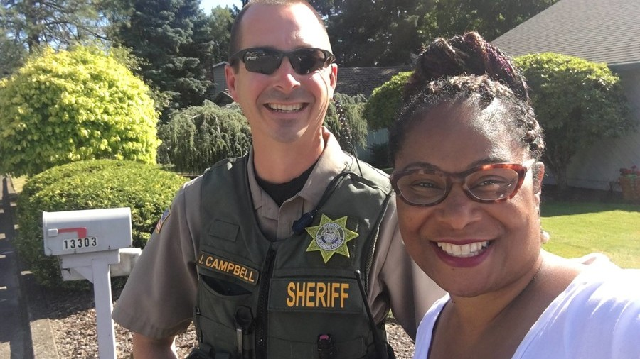Constituent calls cops on 'suspicious' black politician canvassing (PHOTO)