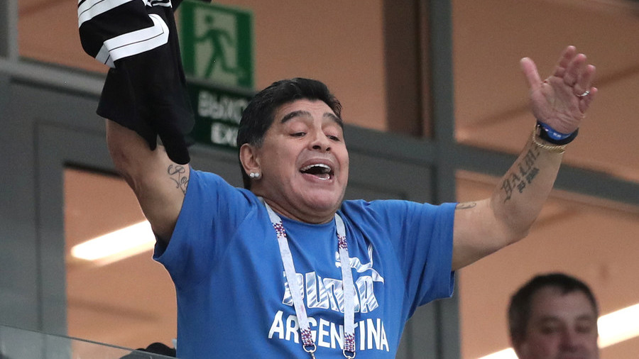 'I saw a monumental theft': Maradona in scathing attack after England victory