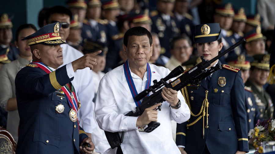 Duterte says he 'would be happy to step down' after ouster plea