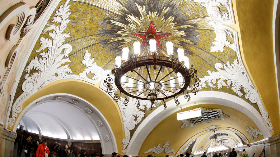 Top 5 most beautiful Moscow Metro stations, as seen by French architects