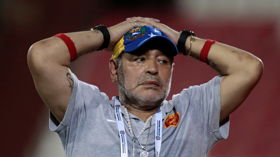 'I have absolute respect for referees': Maradona apologizes for 'unacceptable' comments