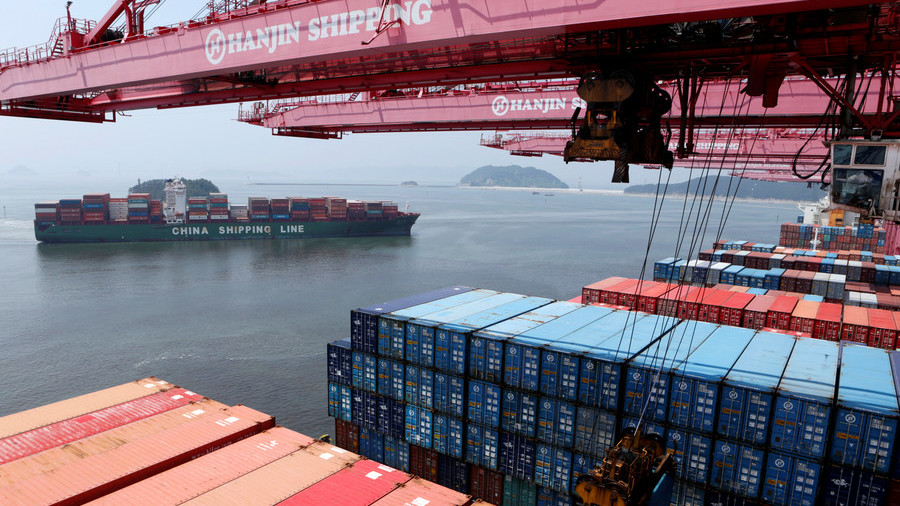 China hits back after USA  imposes tariffs worth $34bn