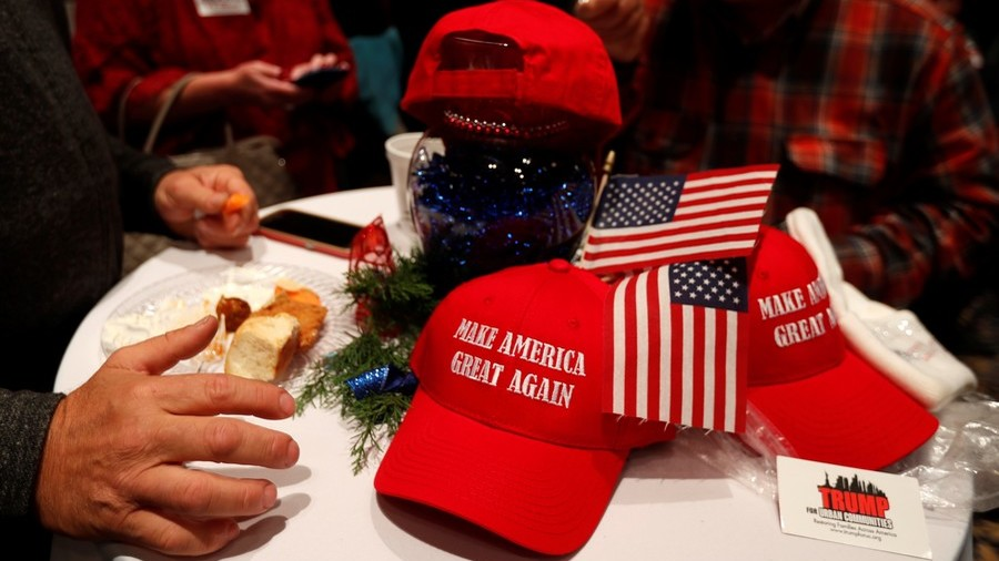 'This MAGA hat will go great in my fireplace, b*tch': Teen Trump fan attacked in restaurant (VIDEO)