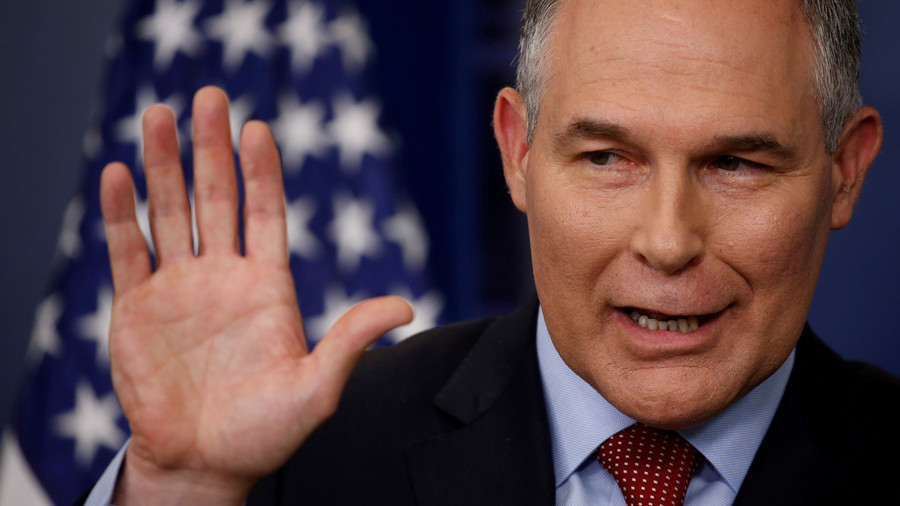 Trump's environment czar Pruitt cites 'unrelenting attacks' in resignation letter