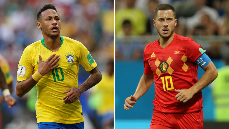 Brazil v Belgium: Stakes couldn't be higher between two top-ranked sides remaining in the World Cup