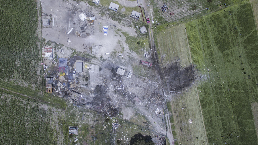 24 killed, scores injured as fireworks rip through workshop in Mexico's 'pyrotechnical capital'