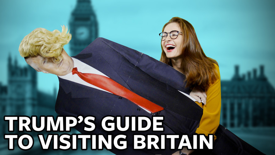 ICYMI: Hostile welcome awaits Trump in Britain… so show the president this briefing quickly (VIDEO)