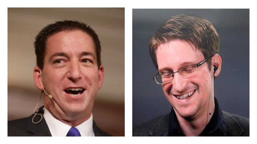 'So excited to reunite': Snowden's confidant Glenn Greenwald meets with whistleblower (PHOTO)
