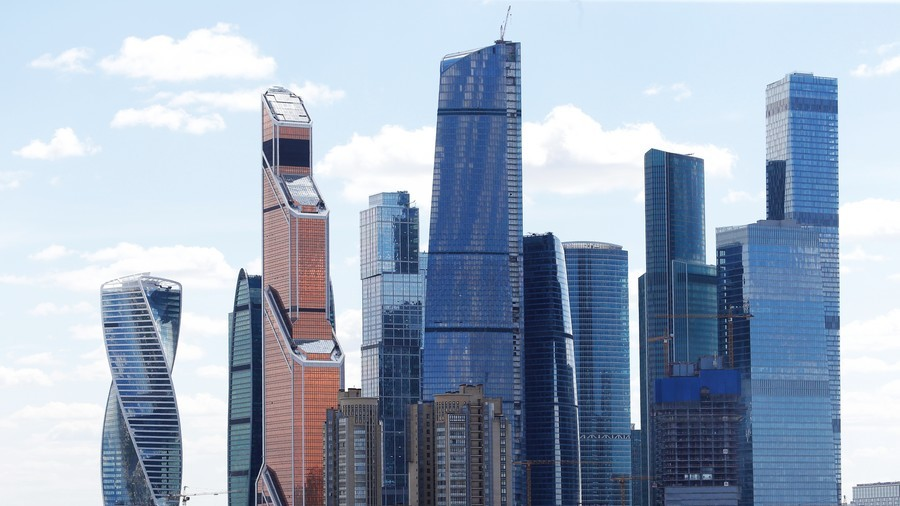 Moscow's tallest skyscraper to crown city's business center